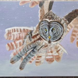 Acryl op doek 50x40 cm  -  2012