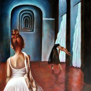 Balletles (olieverf op doek 50x60 cm) - 2019